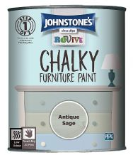 Johnstone's Antique Sage  Chalky Furniture Paint 750ml